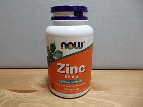 Now Foods, 亜鉛、50 mg、250錠