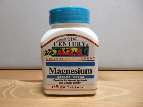 21st Century, マグネシウム, 250 mg, 110錠