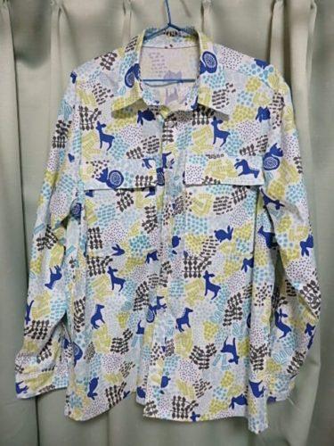 メンズのワイシャツを縫う。ユザワヤ?イオン?のシーチング
