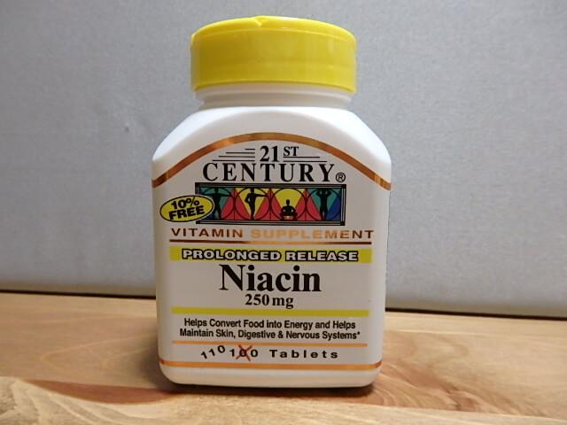 21st Century, ナイアシン、250mg、110錠