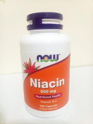 Now Foods, ナイアシン, 500 mg, 100 錠