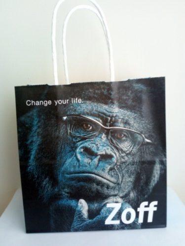 zoffの紙袋