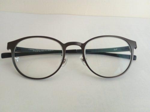 zoffのプリズム眼鏡 正面