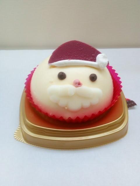 セブンイレブンクリスマスケーキ サンタさん