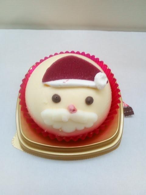 セブンイレブンクリスマスケーキ サンタクロース