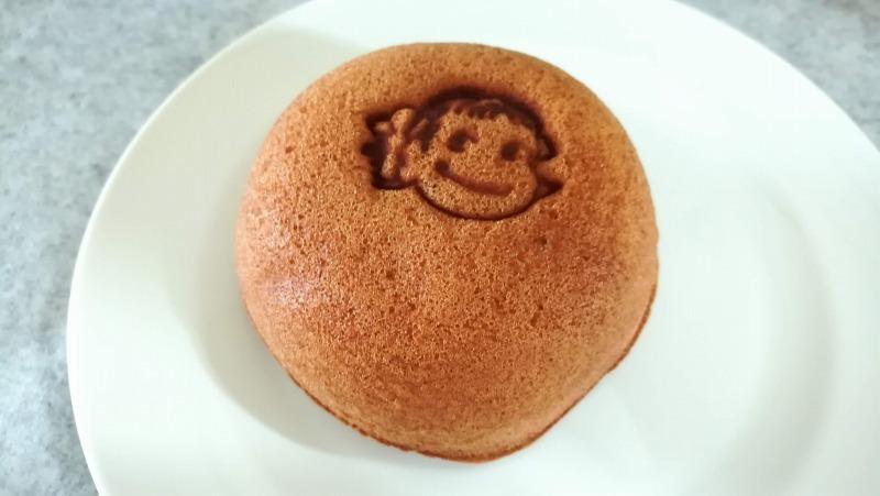 ペコちゃんのほっぺ(チョコクリーム)税抜100円 焼き印