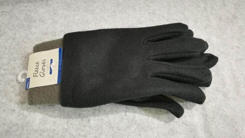 キャンドゥでフリース手袋を発見
