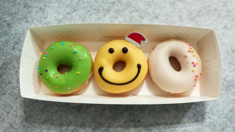 クリスピークリームドーナツ 2018クリスマス ミニドーナツ