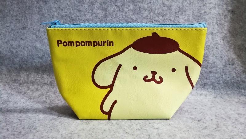 サンキューマートでポムポムプリン コラボ 台形ポーチ購入