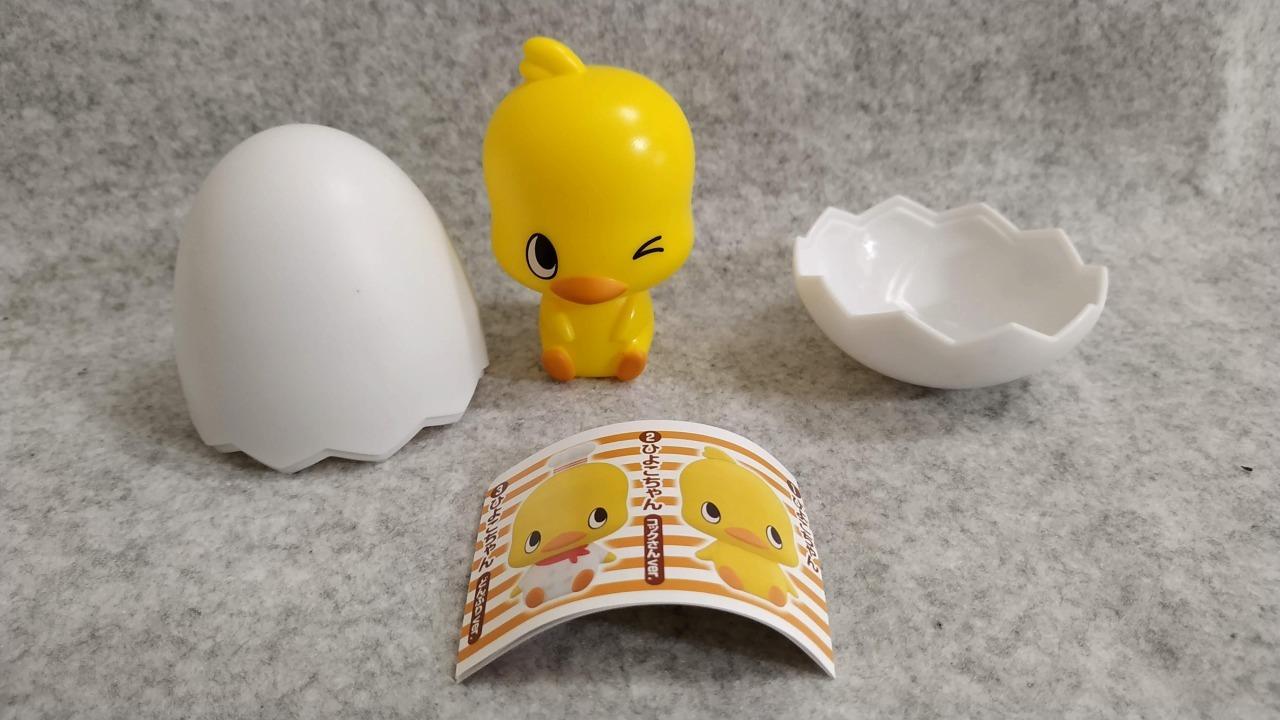 カプキャラ チキンラーメンひよこちゃん たまご2
