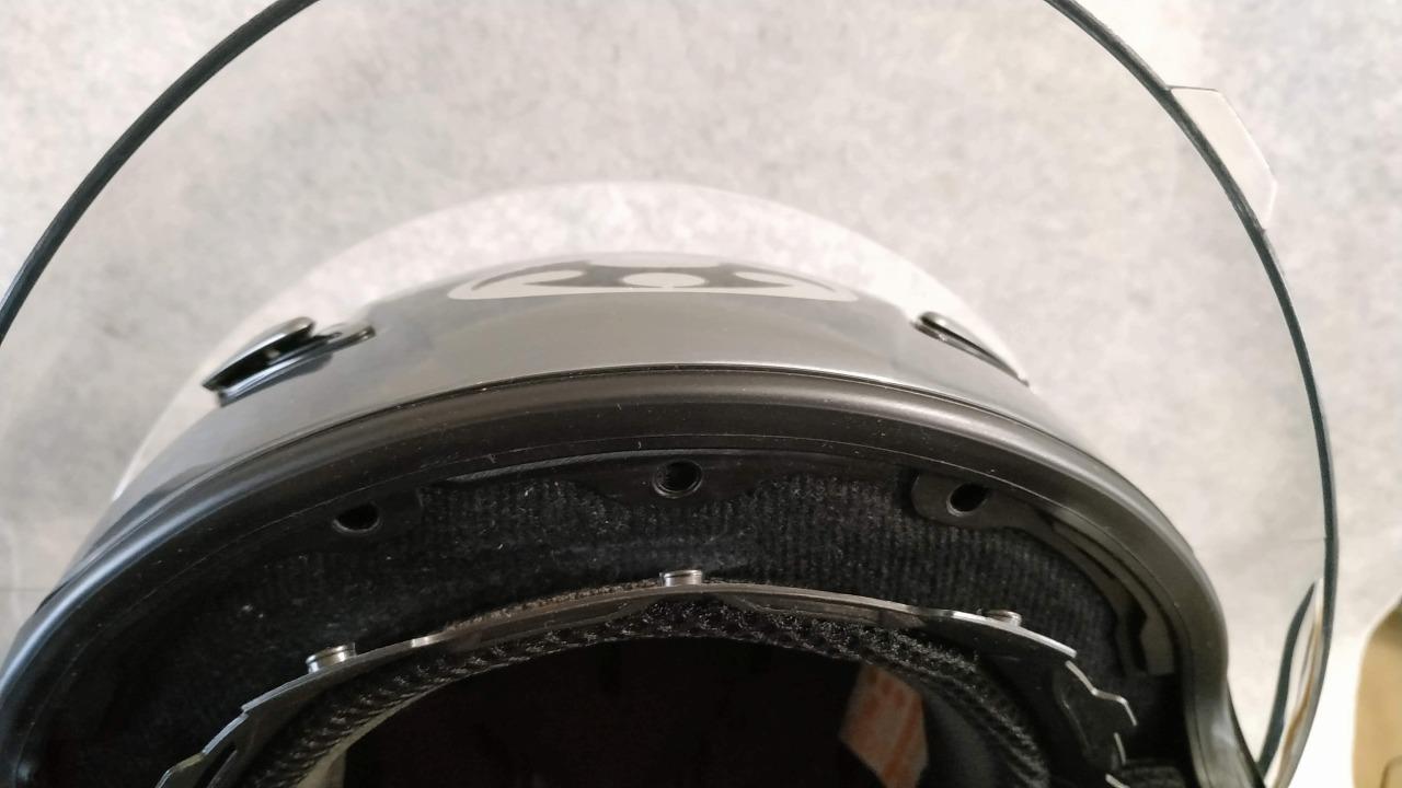 ff-r3 内装 洗濯 インナーパッドの前側を取り付け