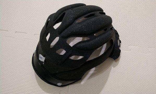 バイクのヘルメットを洗濯 オージーケーカブト(OGK KABUTO) FF-RIII インナーパッド