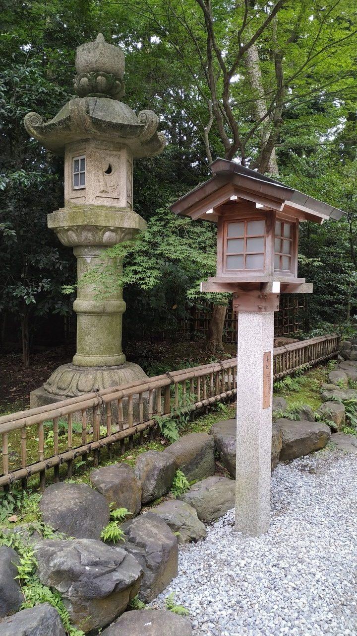 寒川神社 灯籠