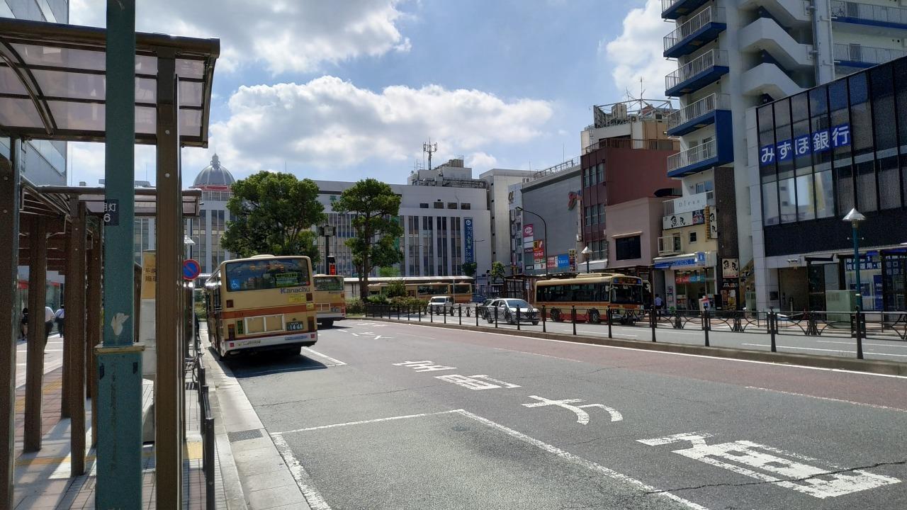 平塚駅で下車