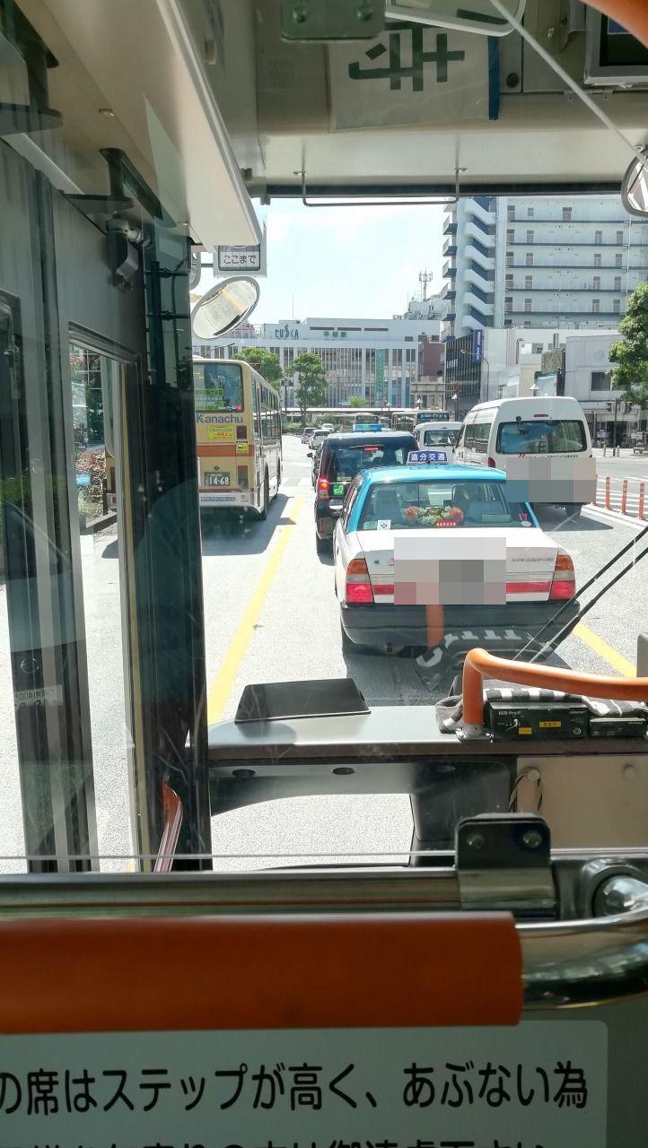 平塚駅終点近く