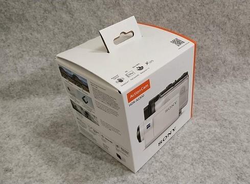 外箱 ソニー ウエアラブルカメラ アクションカム 空間光学ブレ補正搭載モデル(HDR-AS300)
