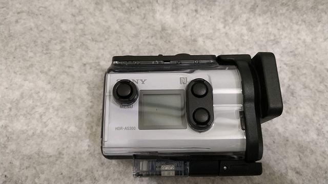 防水ケース側面 ソニー ウエアラブルカメラ アクションカム 空間光学ブレ補正搭載モデル(HDR-AS300)